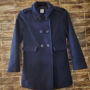 GAP Kids Pea Coat Navy Blue